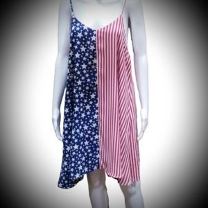 American flag 4th of July sundress